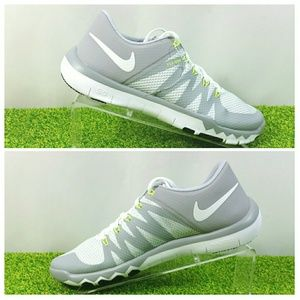 NEW Nike 5.0 V6 Flywire Free Trainer Shoes Gray